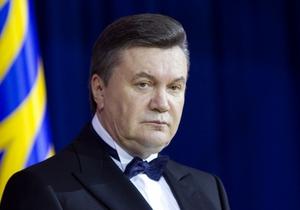 Янукович завтра даст итоговую пресс-конференцию