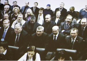"""Суд подтвердил законность повторного ареста Тимошенко. Судьям скандируют """"Фашисты"""""""