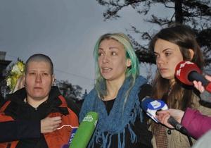 Активистки FEMEN рассказали о пребывании на территории Беларуси