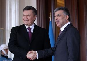 Украина и Турция договорились об отмене виз