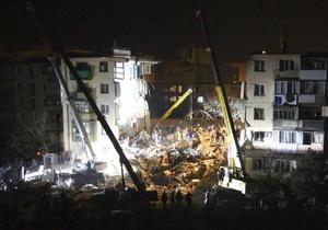 В Евпатории открыли мемориал в память о погибших в результате взрыва дома в 2008 году