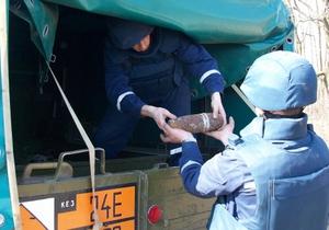 В Ровенской области эвакуировали часть города из-за угрозы взрыва крупного арсенала оружия