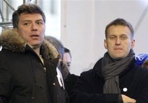 Немцов, Касьянов, Навальный и Каспаров передали Тимошенко слова поддержки