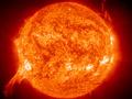 Выброс плазмы на Солнце может вызвать сегодня магнитную бурю на Земле