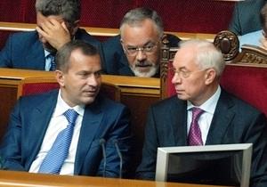 В 2012 году Кабмин намерен внести в парламент 57 законопроектов