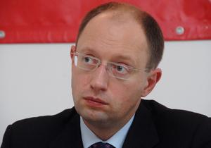 Яценюк рассказал, кто финансирует его партию