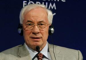 Азаров объявил макроэкономические показатели за 2011-й год