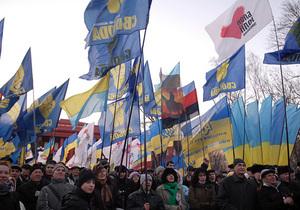 В воскресенье в Киеве ожидаются многотысячные массовые акции