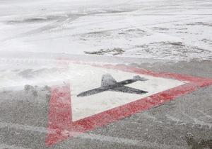 В Борисполе сняты ограничения на прием-отправку воздушных судов