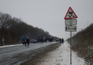 В Украине ожидается мокрый снег и гололедица