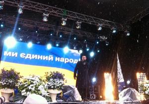 ВО Свобода выступает за импичмент Януковичу в случае победы оппозиции на выборах