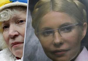 Начальник колонии: Тимошенко передвигается при помощи сокамерницы
