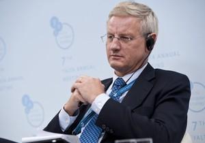 На ланче в Давосе глава МИД Швеции заявил, что Украина очутилась на перекрестке евроинтеграции