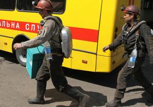 На Донбассе из-за обвала породы на шахте заблокированы четыре человека