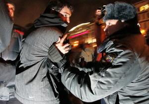 В Москве у здания ЦИК задержаны 16 активистов Другой России