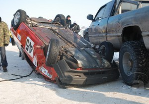 В больнице скончалась женщина, травмированная во время автогонок в Харькове