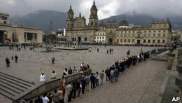 """Колумбийские священники заказали свое """"самоубийство"""""""
