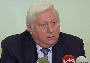 Пшонка: Луценко частично признал свою вину