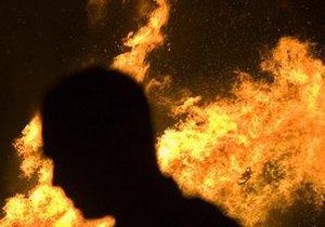В Киеве взорвался телевизор и случился пожар. Пострадал хозяин квартиры