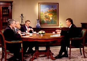 Янукович: Украина никогда не согласится с существующей ценой на газ