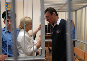 Тимошенко: Режим Януковича вынес приговор не Луценко, а себе