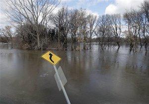 На западе Украины ожидается наводнение