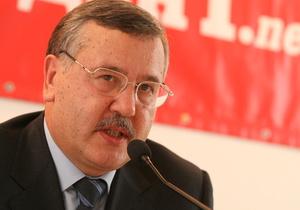 Гриценко заявил, что не будет претендовать на должность мэра Киева и поддержит Кличко