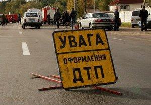 В Харькове произошло ДТП с участием служебной машины ГАИ