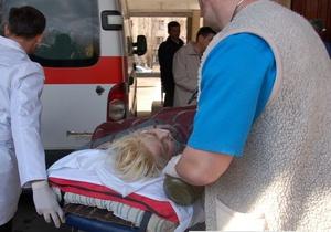 Жертва преступления в Николаеве удовлетворительно перенесла перелет в Донецк