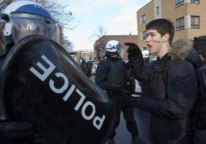 В Канаде арестовали 226 участников протеста против полицейского произвола
