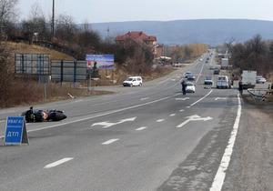 В Ужгороде произошло ДТП с участием дочери депутата от Партии регионов: погиб байкер