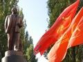 В Ровно неизвестные облили черной краской офис КПУ