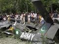 Два самолета ВВС Пакистана столкнулись в воздухе
