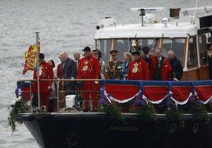 Флотилія на Темзі на честь Єлизавети II потрапила до книги рекордів Гіннеса