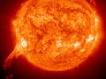 Двойной выброс плазмы на Солнце вызвал магнитную бурю