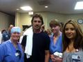 Исполнитель роли Бэтмена Кристиан Бэйл посетил пострадавших в больнице Авроры