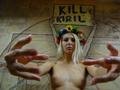 Полуголая активистка FEMEN бросилась навстречу патриарху Кириллу с криками