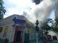 В центре Одессы произошел крупный пожар