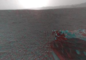 К'юріосіті зробив перший знімок Марса високої роздільної здатності