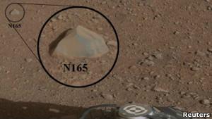 """""""Кьюриосити"""" расплавил первый марсианский камень"""
