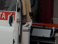 В Мариуполе на девятилетнюю девочку упал железобетонный столб