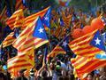 Массовая демонстрация за независимость прошла в Каталонии
