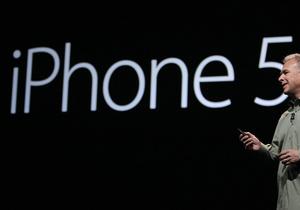 Фотогалерея: Это пять. Apple представила iPhone 5
