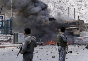 Талибы напали на базу НАТО в восточном Афганистане