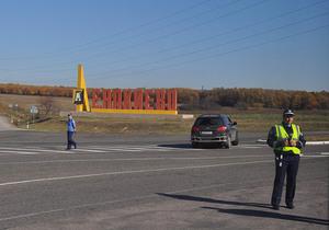 У Донецьку і Єнакієвому до приїзду Януковича перекрили центральні вулиці і зняли рекламу опозиції