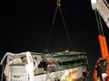 В Китае автобус упал в пруд, погибли 11 человек