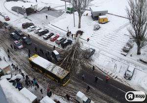 Новости Киева - Попов объявил о чрезвычайной ситуации природного характера в Киеве