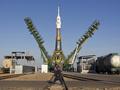 С Байконура стартовал Союз с новым экипажем МКС на борту