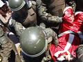 Санта Клаус в Чили разбился при прыжке с парашютом