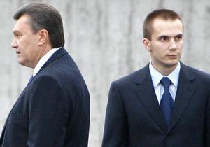 Сын Януковича рассказал о своем бизнесе